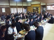 Aikido party in Iwama